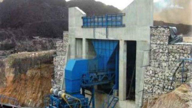 Unloading Ramp – Coal Crushing – PT Antang Gunung Meratus