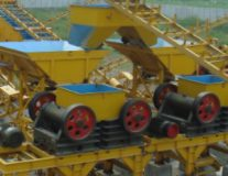 Stone Crusher during Construction & Erection